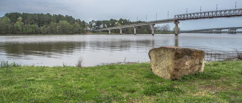 bridge shot on River Maumelle AK