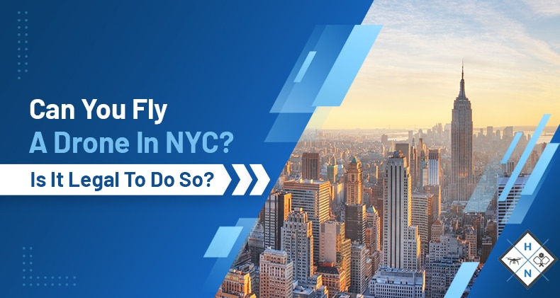 can you fly a drone in nyc