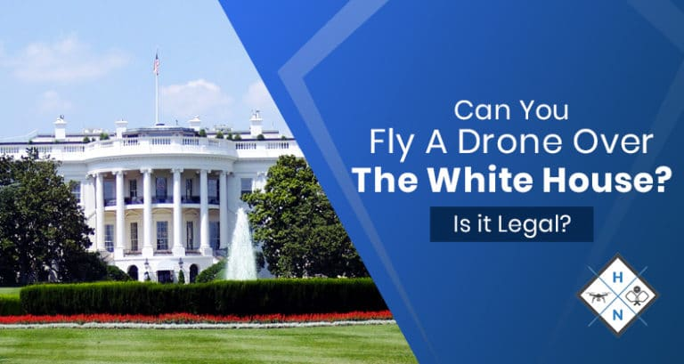 can you fly a drone over the white house