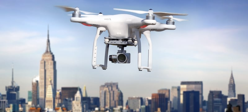 drone flies on north new york airspace