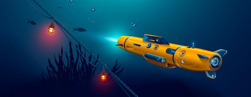 exploration underwater drone