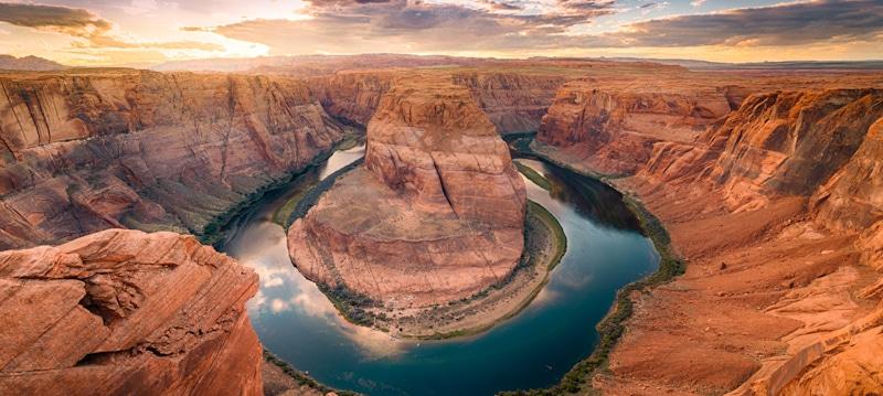 red rock colorado aerial shot