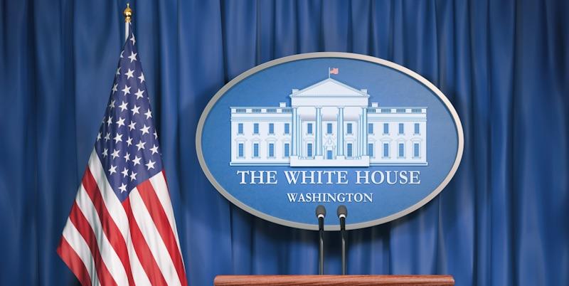 white house press podium