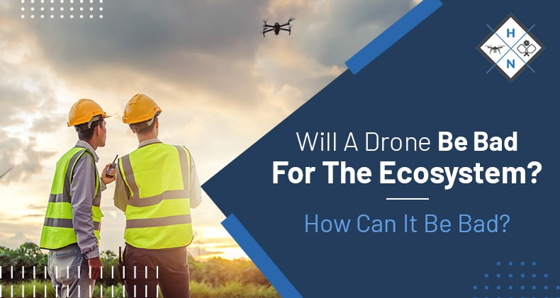will a drone be bad for the ecosystem