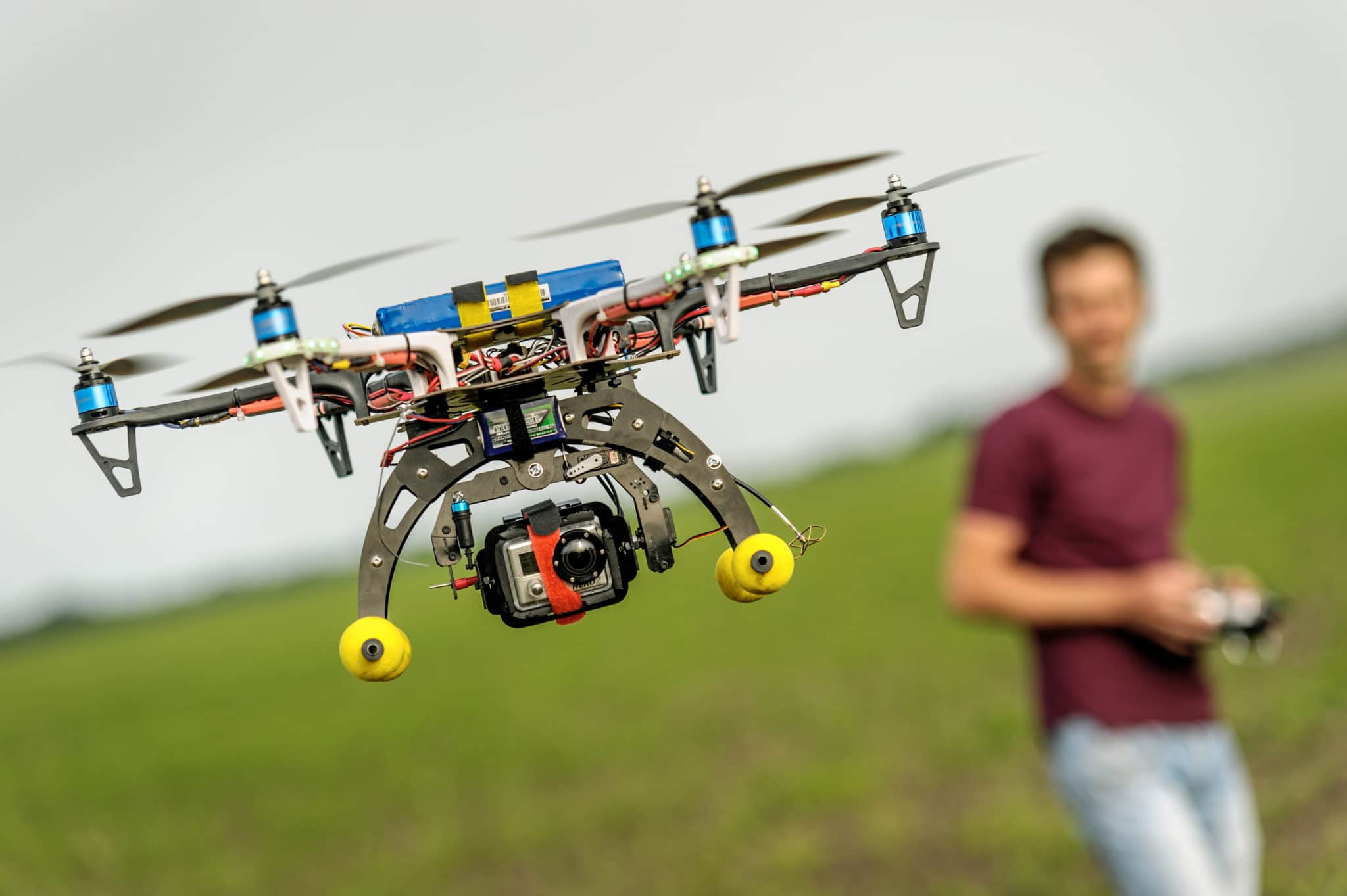 Constantly Monitor Your Drone When Flying