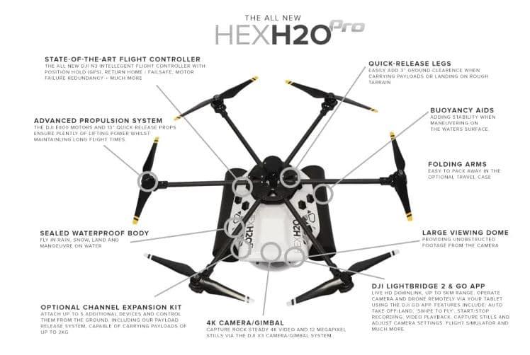 HexH Pro drone