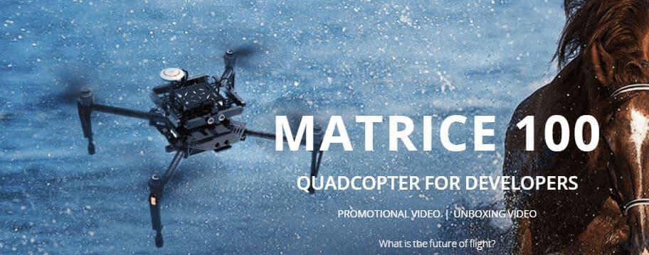 matrice drone screenshot from website