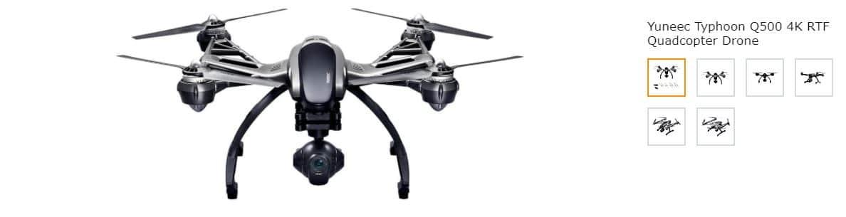 yuneec typhoon q k drone screenshot