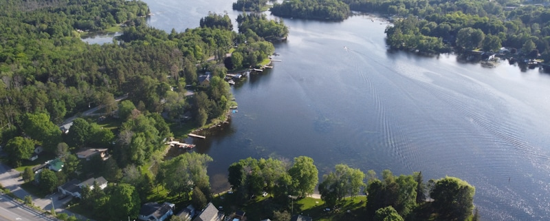 Canadian Outdoor Landscape in Kawartha Lakes