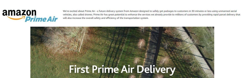 amazon prime air page