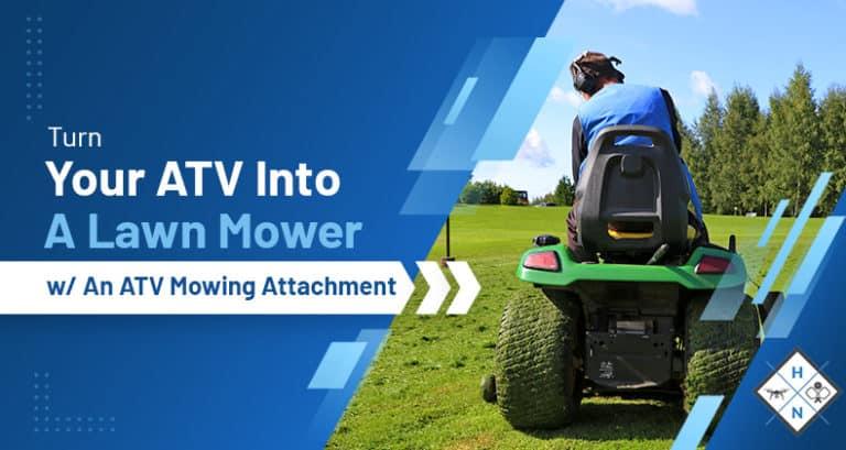 atv mowing attachment