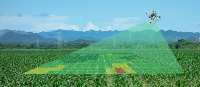 droneandagriculturemeasuringfield