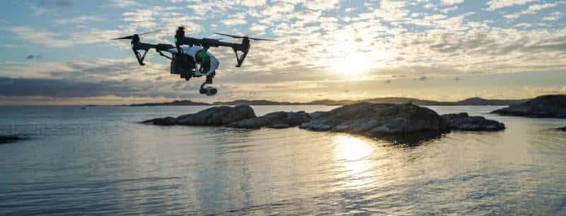 droneoverwatersunrise