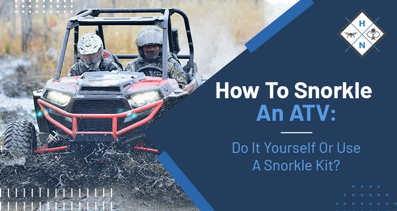 how to snorkle an atv