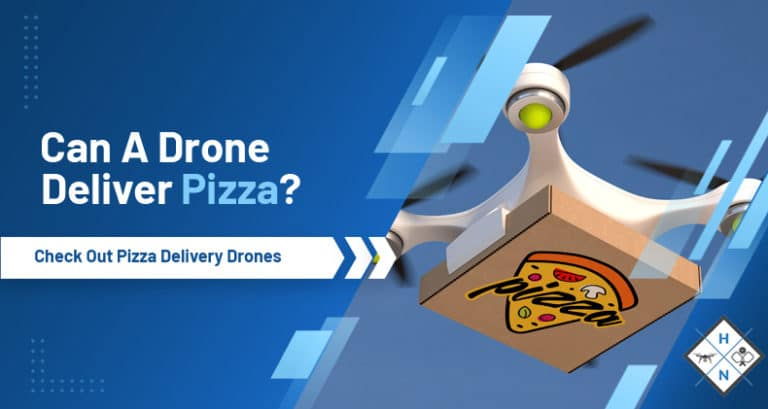 can a drone deliver pizza