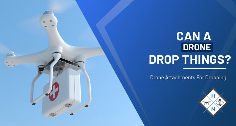 can a drone drop things