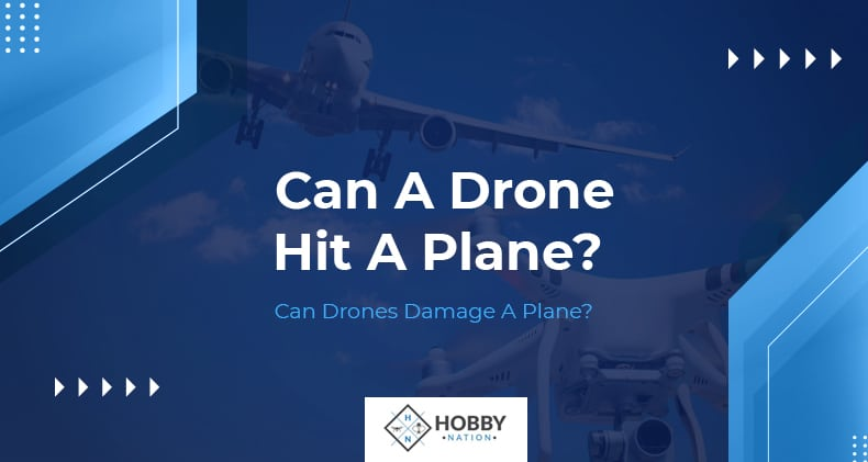 can a drone hit a plane