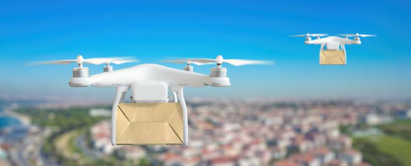 dronecarryingpackage