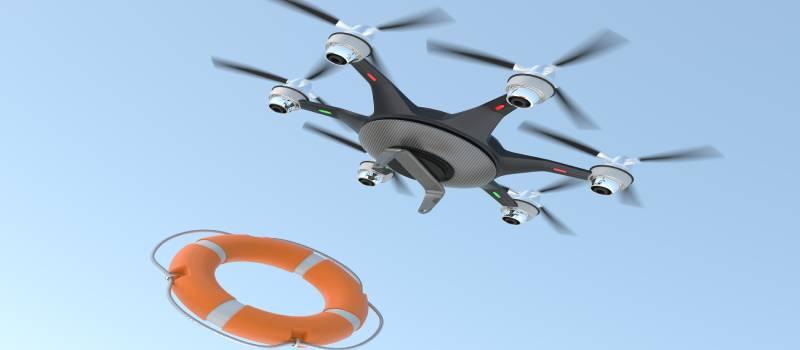 dronedroppingfloat