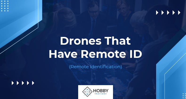 drones that have remote id