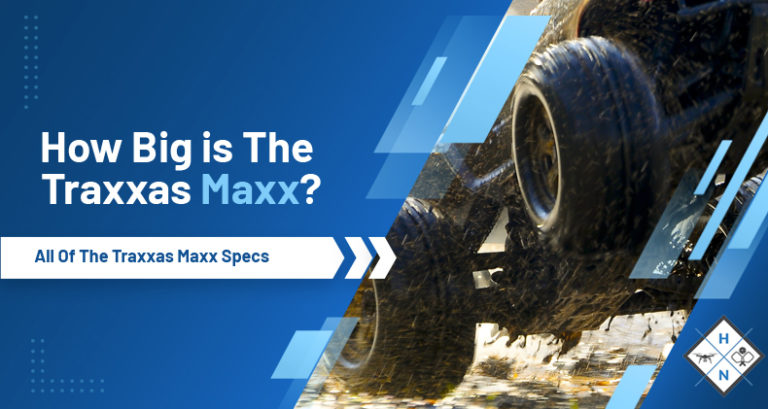 how big is the traxxas maxx