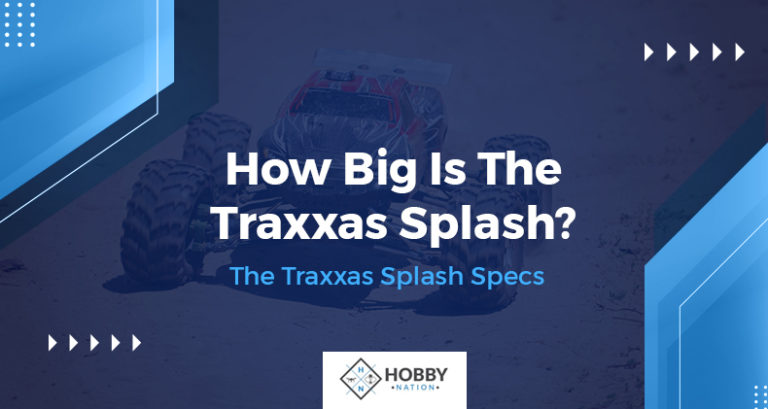 how big is the traxxas splash