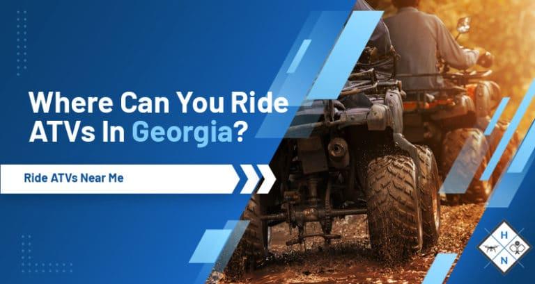 where can you ride atvs in georgia