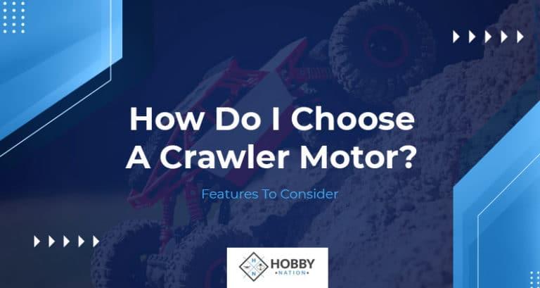 how do i choose a crawler motor