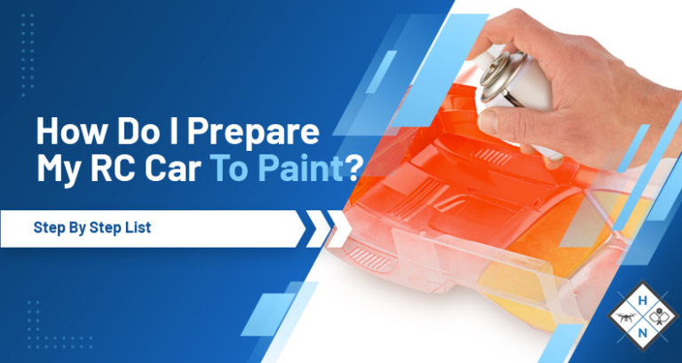 how do i prepare my rc car for paint
