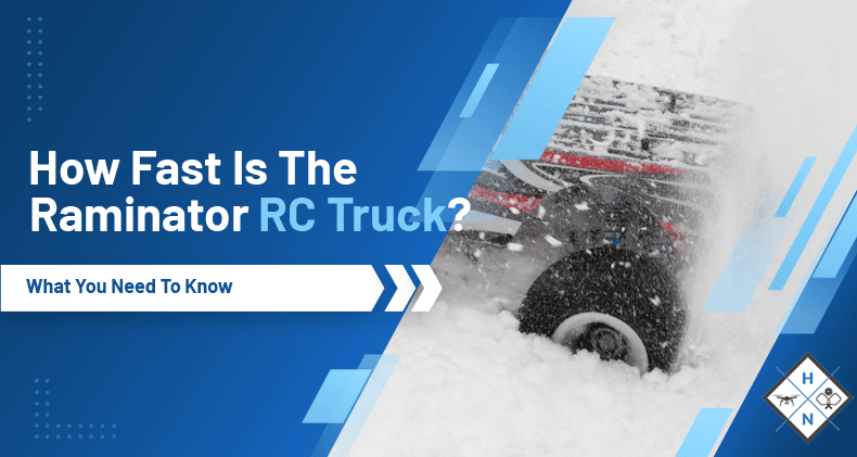 how fast is the raminator rc truck