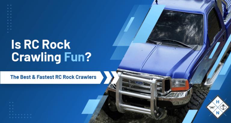 is rc rock crawling fun