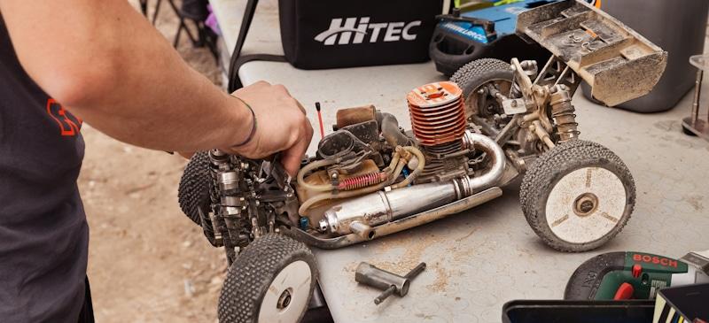 rc car engine repair