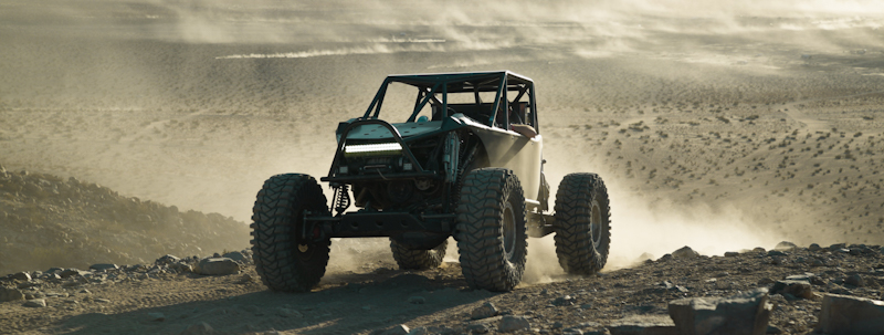 real size vehicle rock crawling