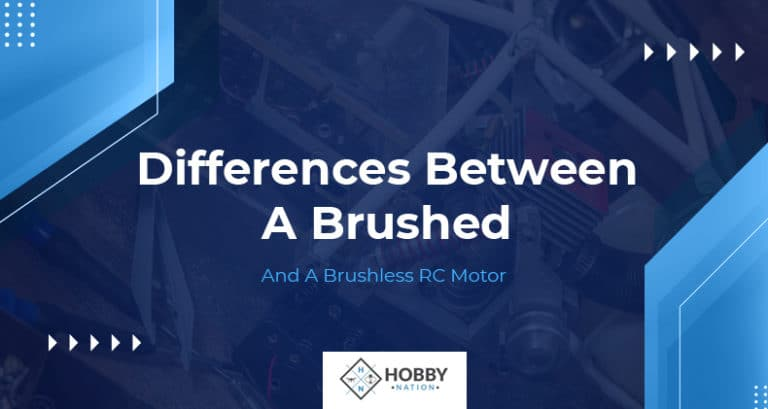 what is the difference between a brushed and brushless rc motor